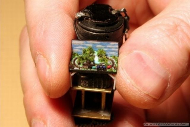 The Smallest Train in the World (8 pics + 1 video)