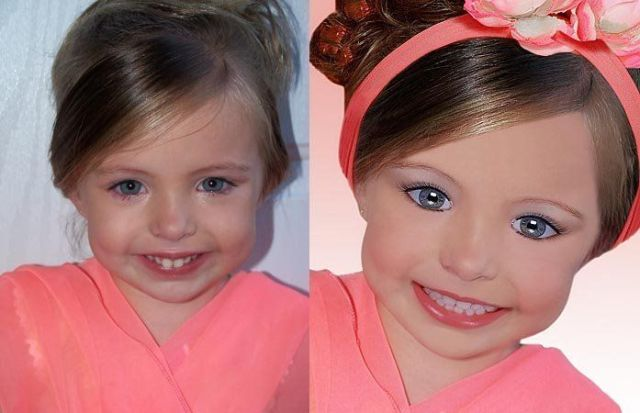 "Creepiest ""Professionally"" Retouched Photos of Children! (80 pics)"