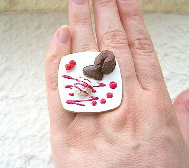 Rings That Will Make You Wanna Eat (18 pics)