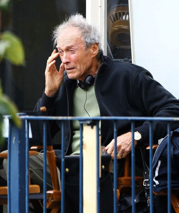 Clint Eastwood, a real grandpa now ;) (10 pics)