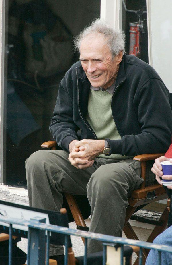 Clint Eastwood, a real grandpa now ;) (10 pics)