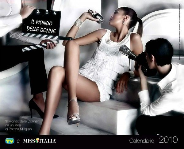 Miss Italia, Official 2010 Calendar (13 pics)