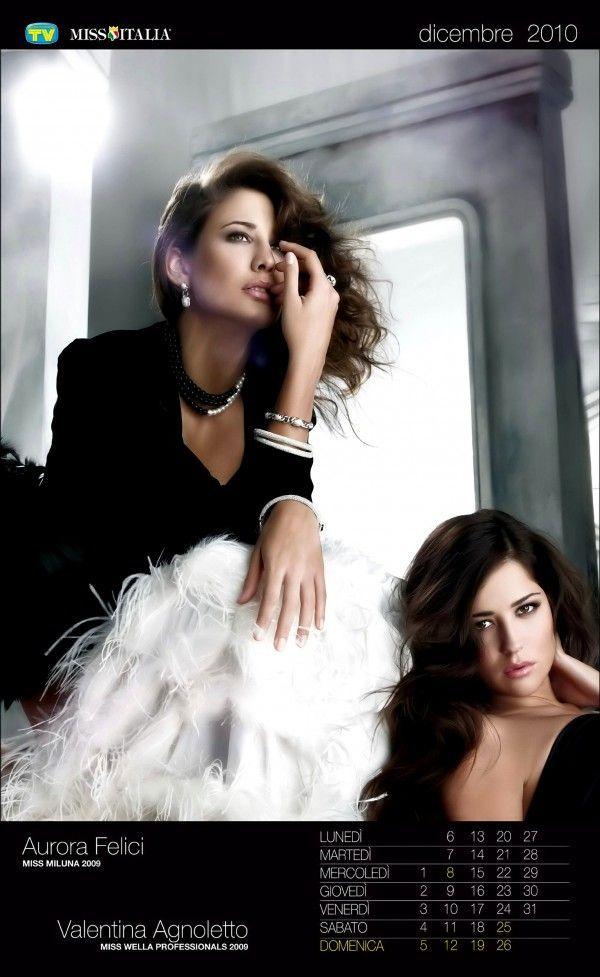 Miss Italia, Official 2010 Calendar (13 pics)