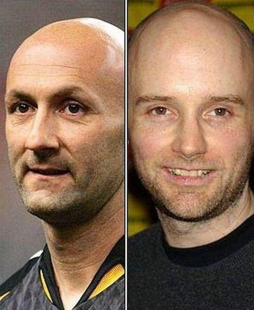 Celebrities who look alike (26 pics)