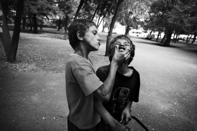 Children of the streets (25 pics)