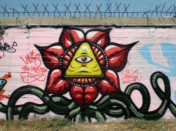 Huge Selection Of Cool Graffiti Art 281 Pics Picture 138