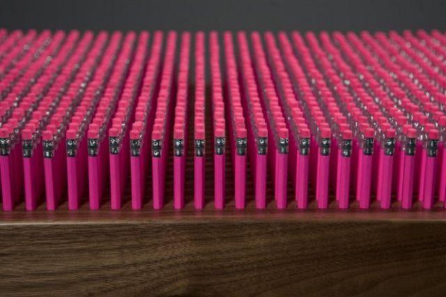 Pencil Bench (6 pics)