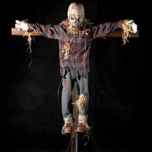 Really Horrible Scarecrows ;) (9 pics)