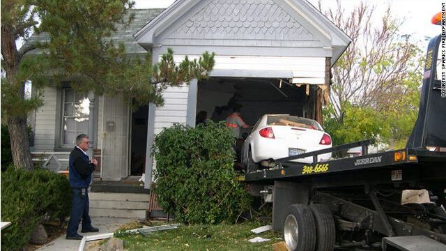Car Lands on a Bed with a Sleeping Couple… (7 pics)