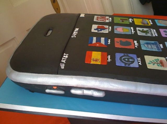 Wedding Cake for Apple Fans (9 pics)