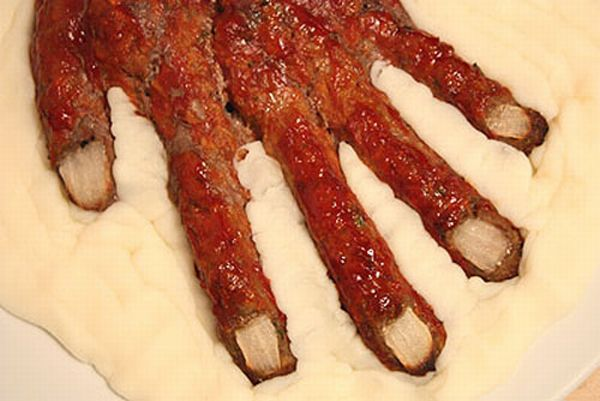 Meat Hand – Cool Recipe for Halloween (30 pics)