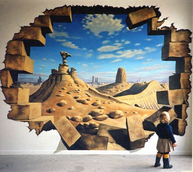 Awesome 3D Murals (27 pics)