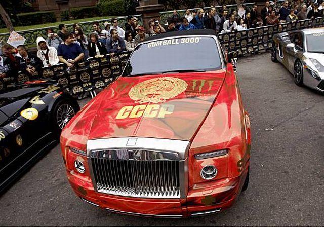 Rolls-Royce Drophead СССР edition (5 pics)