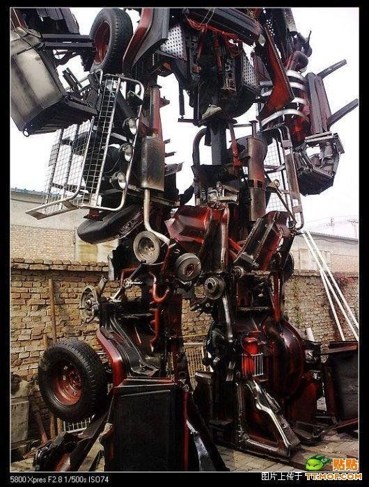 Moving a Chinese Transformer! (4 pics)