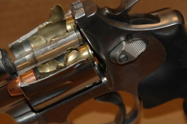 Exploded Gun (4 pics)
