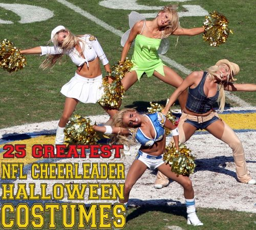 Cheerleaders Costume Contest (14 pics)