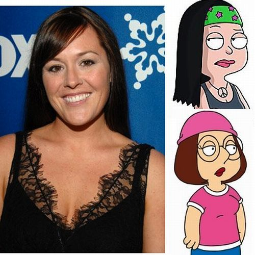 The Faces Behind the voices of Cartoon Characters (17 pics)