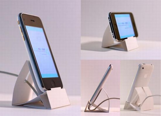 Creative, Crazy and Great iPhone Docking Stations (20 pics)