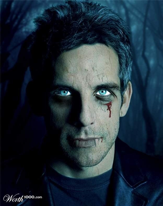 Celebrities as Vampires (41 pics)