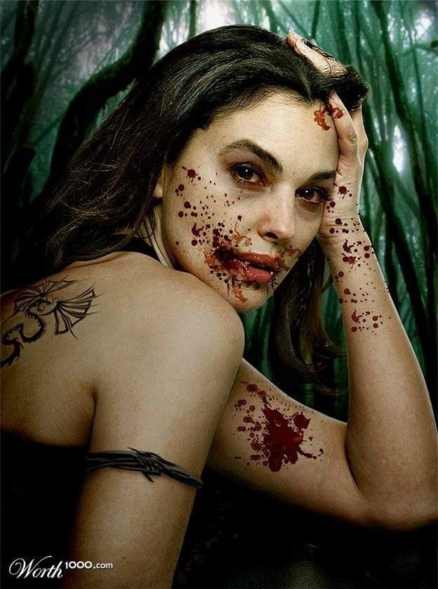 Celebrities as Vampires (41 pics)