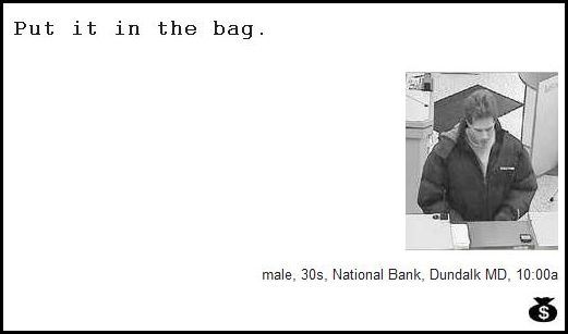 Demand Notes of Bank Robbers (64 pics)