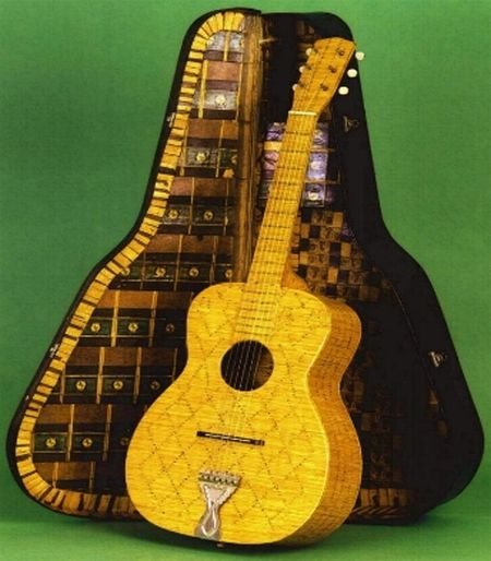 Musical Instruments from Matchsticks (7 pics)