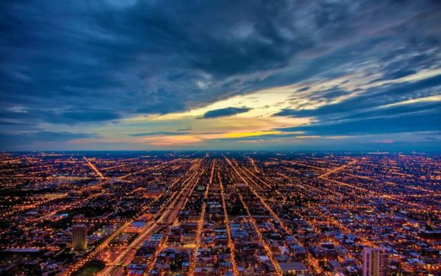 Beautiful Pictures of Cities at Night (55 pics)