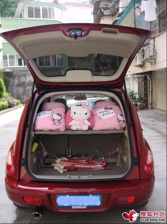 Hello Kitty Style Chrysler PT Cruiser (12 pics)