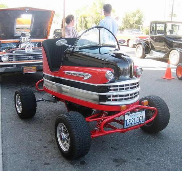 Making Real Cars from Bumper Cars! (7 pics)