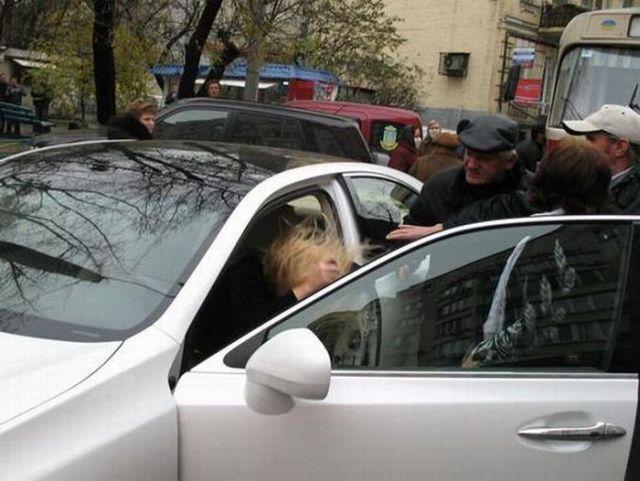 Stupid Lexus Owner (5 pics)