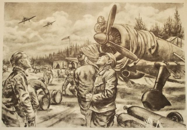 Pencil War Drawings (44 pics)