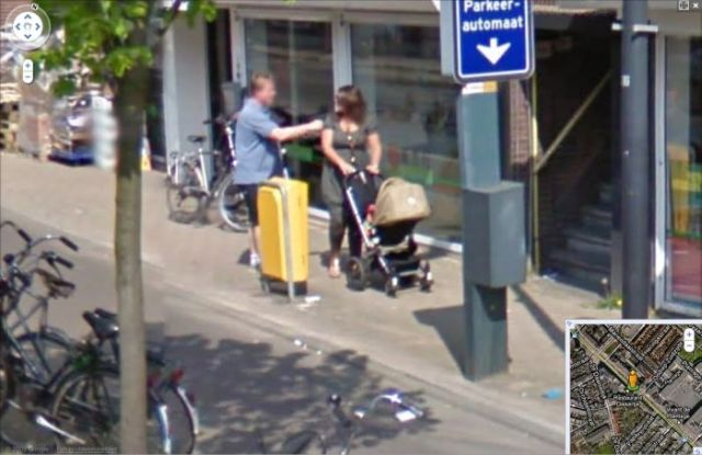 Fight Captured on Google Street View (3 pics)