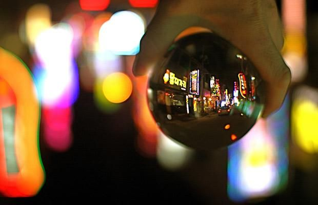 Looking Through a Crystal Ball (13 pics)
