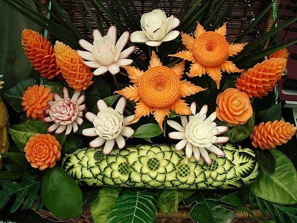 Fruit and Vegetable Art (38 pics)