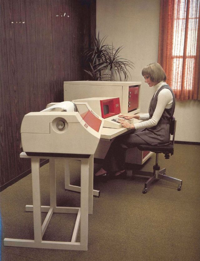 retro office