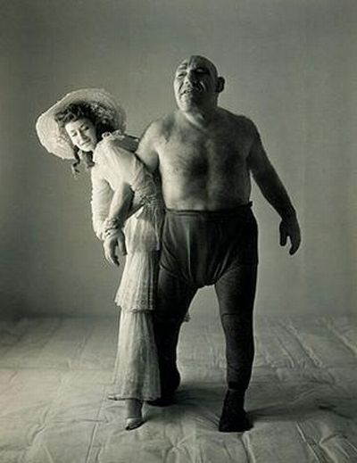 Maurice Tillet Became a Model for Shrek Character (14 pics)