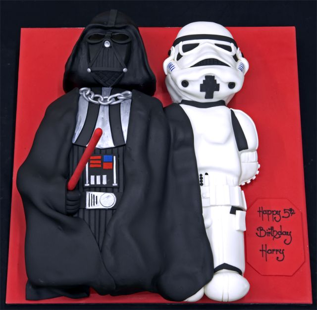 Cool Star Wars Cakes (23 pics)