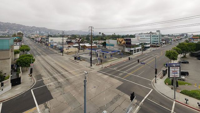 Empty Los Angeles (25 pics)