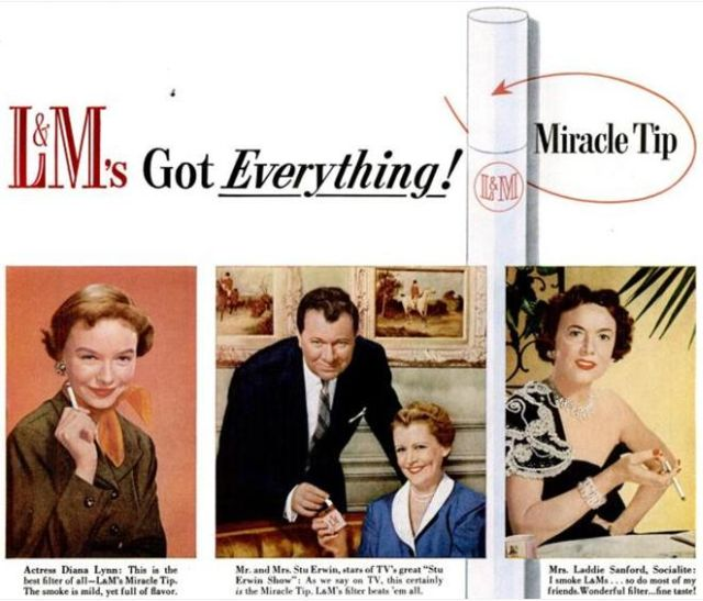 Cigarette Ads from the 50's (17 pics)