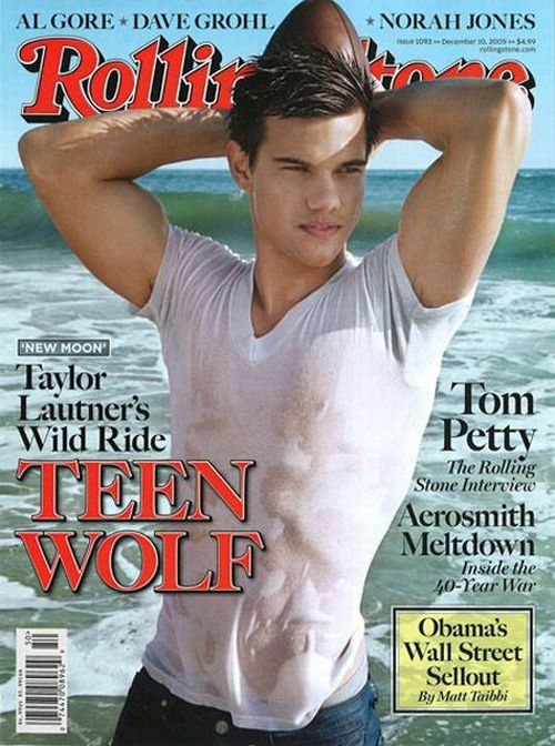 Taylor Lautner for Rolling Stones (10 pics)