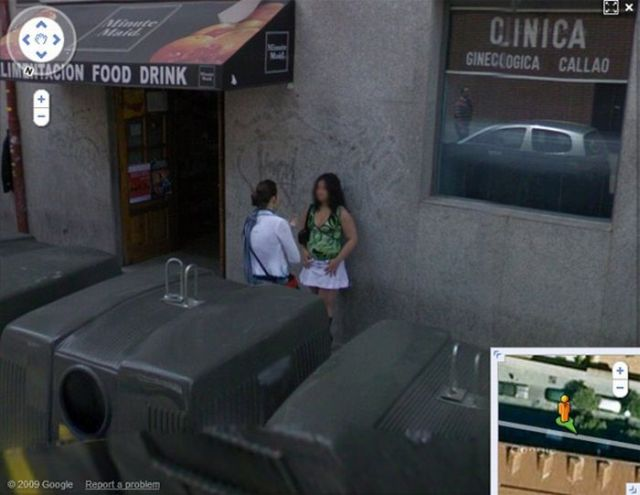 google street view funny. on Google Street View (24