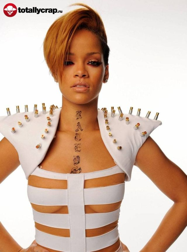 Funny Rihanna's outfit (26 pics)