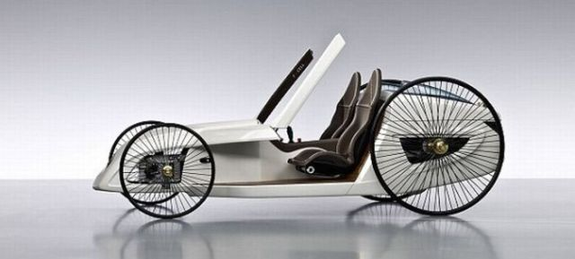 Incredible Mercedes-Benz F-CELL Roadster (14 pics)