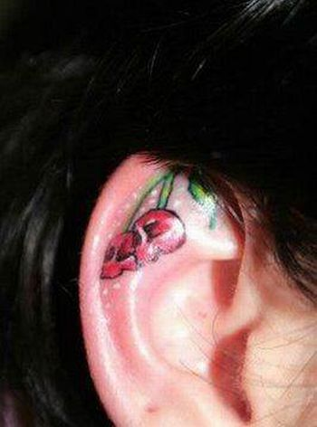 Ear Tattoos (15 pics)