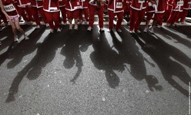 Santa Claus Race in Sydney (10 pics)