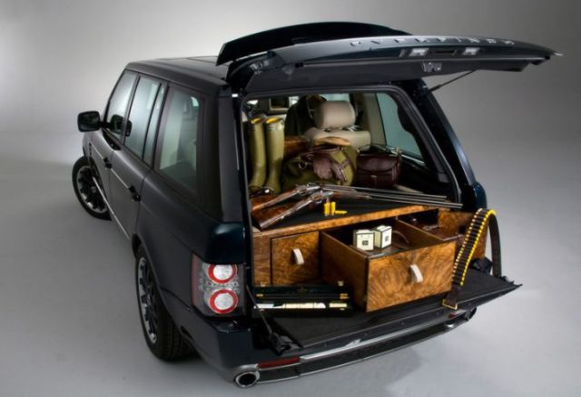 Exclusive VIP SUV for Hunting from Holland & Holland (13 pics)