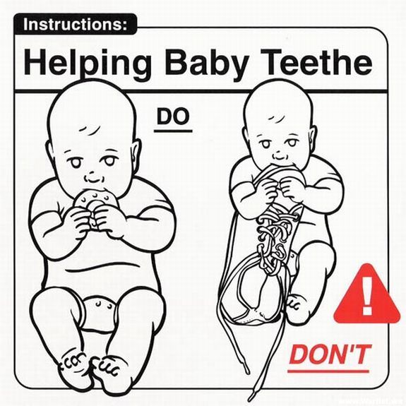 Oldie of the Day. Child Care Instructions (28 pics)