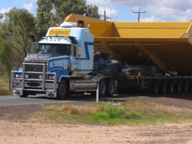 Delivering a Huge Dumpster! (4 pics)