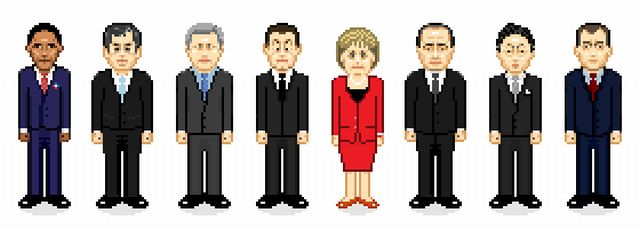 Iconic Characters and Celebs in Pixels (13 pics)
