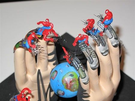 "Creative Works from the International Festival Nail ""Golden Hands of Baltics 2009"" (29 pics)"